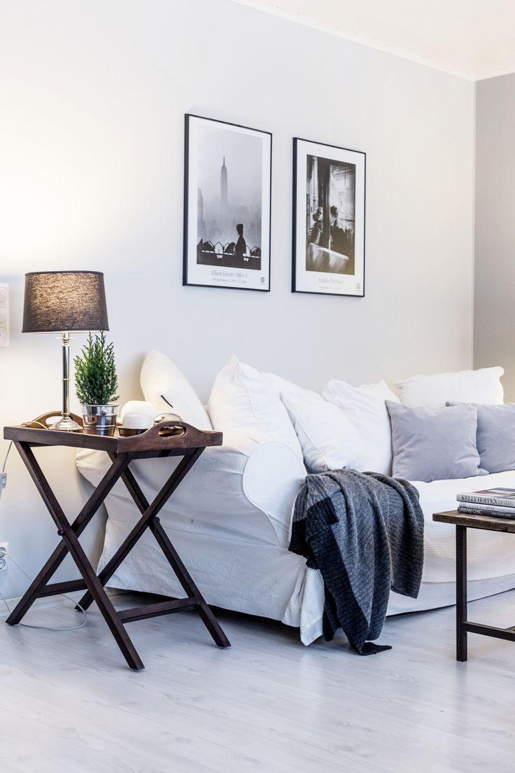 Living room / White / Grey / Noora&Noora nooraandnoora.com