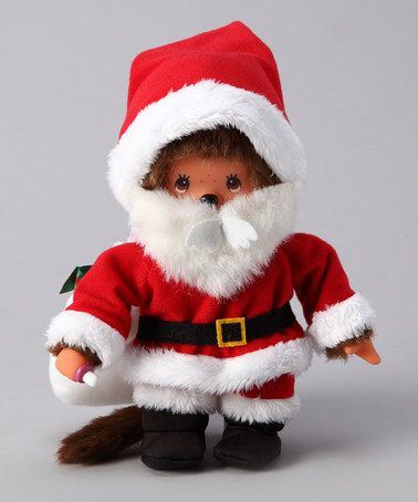 Take a look at this Santa Claus Monchhichi by Monchhichi on #zulily today!
