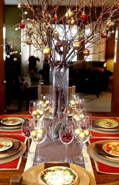 50 Best DIY Christmas Table Decorations   Meowchie's Hideout