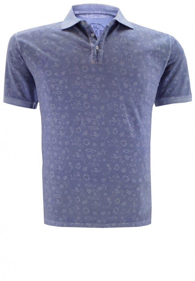 Kitaro Poloshirt Plus Size zomercollectie herenmode Spring Summer 2015 grote maten mannen kleding