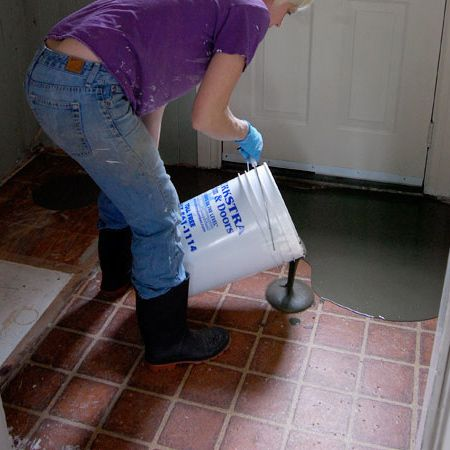 First Off Self Levelling Compound Is A Latex Based Cemenious Product That Provides Thin Smooth Overlay When Ap Home Improvement On Dzine In