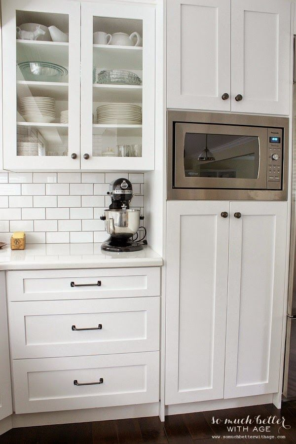 Microwave In Pantry Cabinet Street Design School Feature Friday So Much Better With Age Kitchen And Dining Room