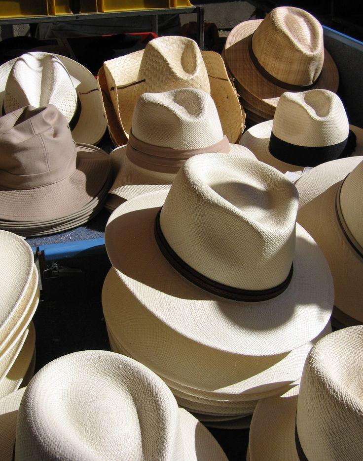 Zomerse hoeden.