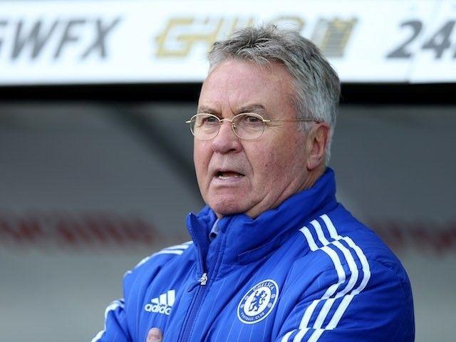 Chelsea boss Guus Hiddink: 'Nerves could get better of Tottenham Hotspur'