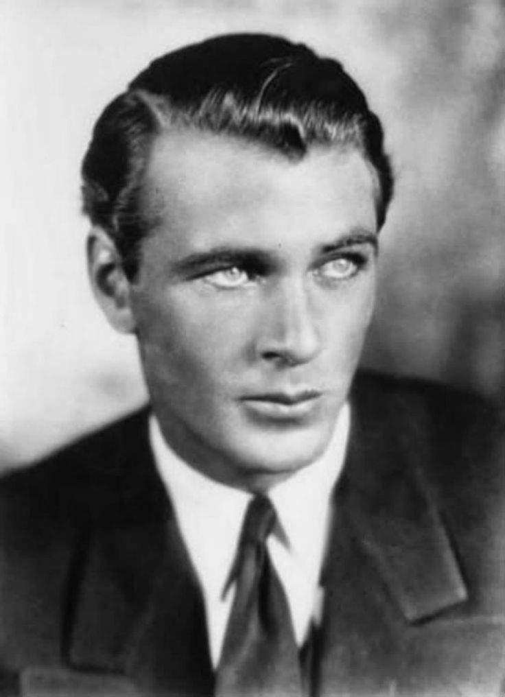 Gary Cooper--looks like late 1920s photo when he did numerous bit parts in silent films.