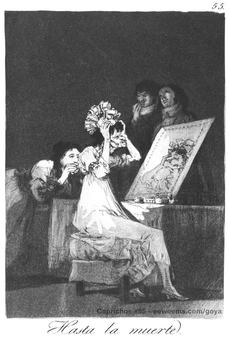 Francisco de Goya | Caprichos 55 | Francisco goya, Artist ...