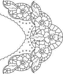 haft richelieu // cut work embroidery patterns - Google Search - Google Search