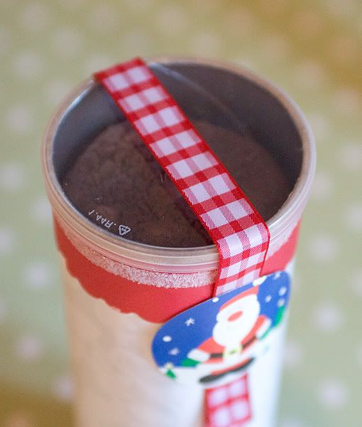 a thousand words: Pringles tube to the rescue