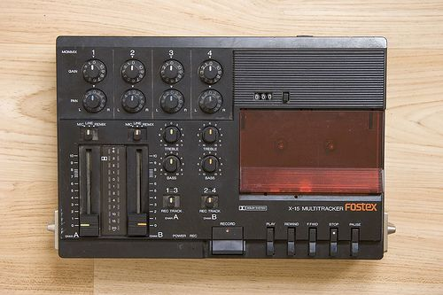 Fostex X-15 Four-Track Cassette Recorder. This machine changed my life. I spent…