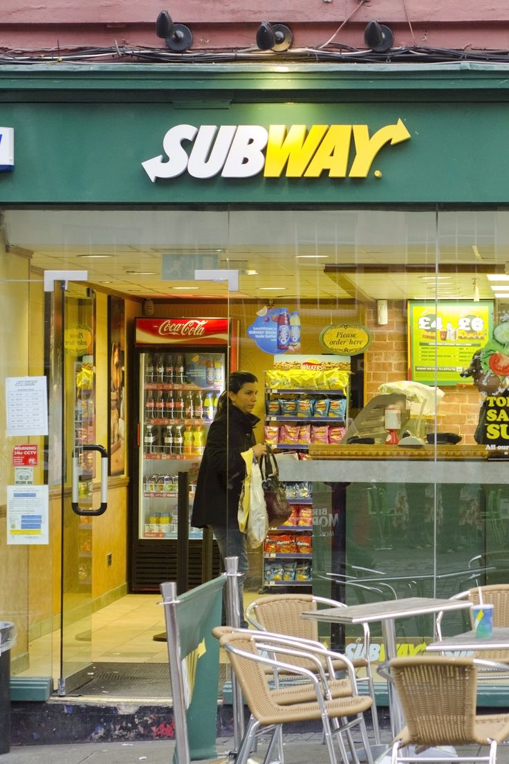 Subway Is the Latest FastFood Chain to Announce Major