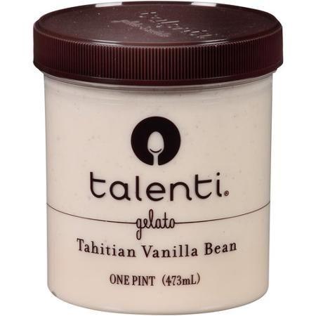 Talenti Tahitian Vanilla Bean Gelato, 1 pt