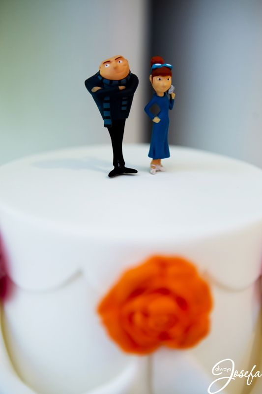 Gru And Lucy Cake Topper