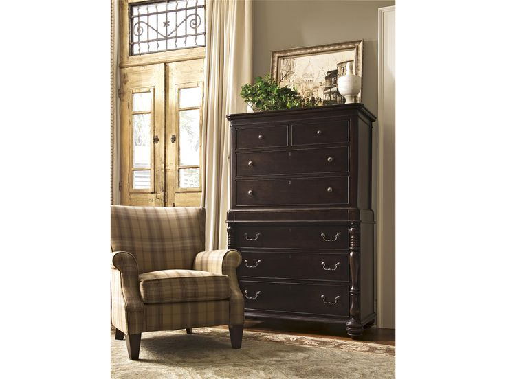 Universal Furniture | Paula Deen Home | Tall Chest Features Seven Drawers,  Hidden Storage And