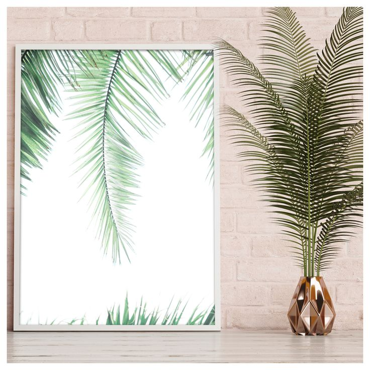PALMS |  Give your home a boost with our new poster PALMS.