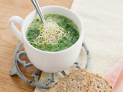 Recept Spinaziesoep | Ekoplaza | De grootste biologische supermarktketen van Nederland