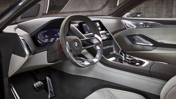 Интерьер концепта купе BMW Concept 8 series / БМВ 8-серии