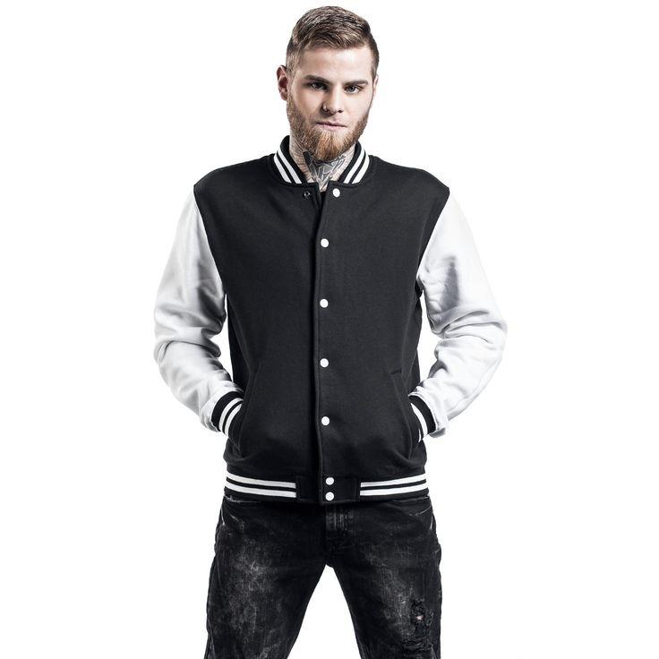 Urban Classics Varsity bunda -2-Tone College- -- Koupit nyní v EMP -- Více Neformální oblečení College bundy dostupných online - Nejlepší ceny!