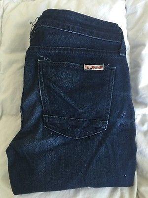 Hudson Dark Denim Jeans Women's Sz 25*