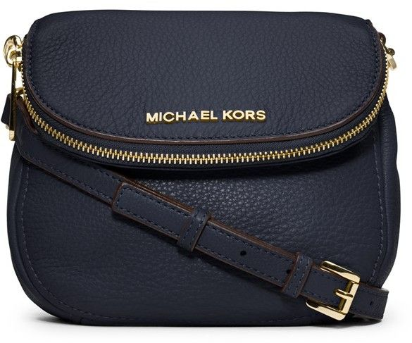Navy Leather Crossbody Bag by MICHAEL Michael Kors. Buy for $188 from Nordstrom