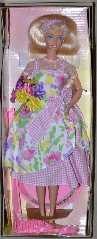 Barbie Doll Avon Special Edition Spring Petals Barbie Doll New in box #Mattel #Dolls