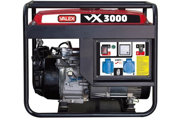 Generatore 4 tempi OHV VX3000 Valex Per attività ambulanti, sagre e feste notturne!!