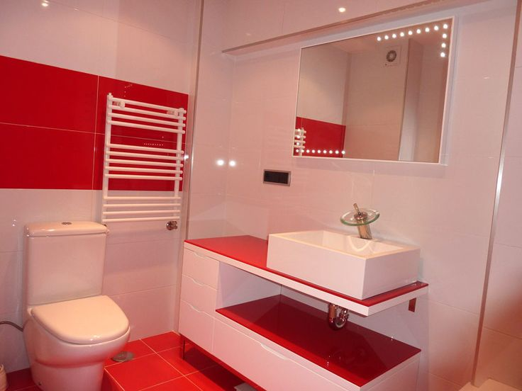 Las 25 mejores ideas sobre decoraci n cuarto de ba o rojo - Decoracion cuartos de bano ...