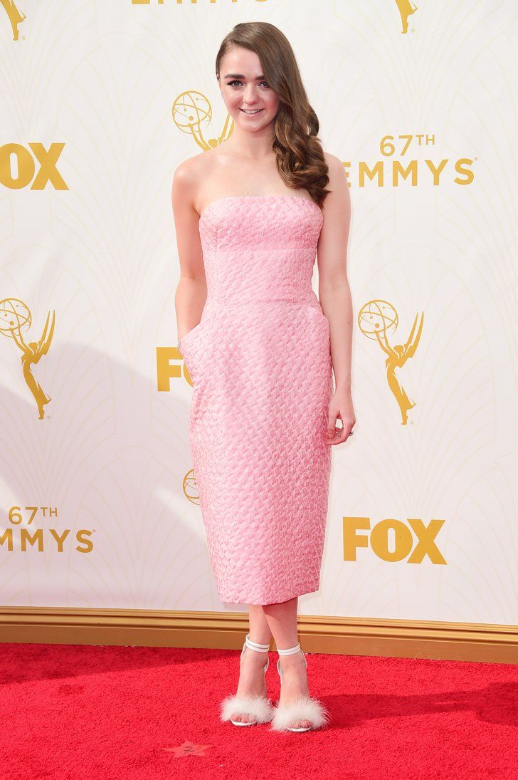 Pin for Later: This Is the Prettiest Way to See All of Tonight's Emmys Dresses Maisie Williams