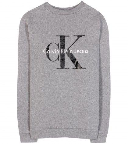 Calvin Klein Jeans - mytheresa.com exclusive Cotton logo sweatshirt - mytheresa.com GmbH