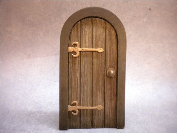 DollHouse Miniature Door Tudor Door Medieval Cottage Door Fairy Door Castle & 69 best Miniature Dollhouse Doors images on Pinterest | Miniature ... pezcame.com