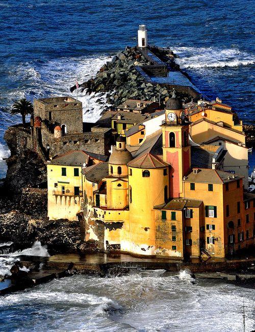 Camogli, Liguria (by Il linguaggio degli alberi di Ciampi e Cannizzaro)