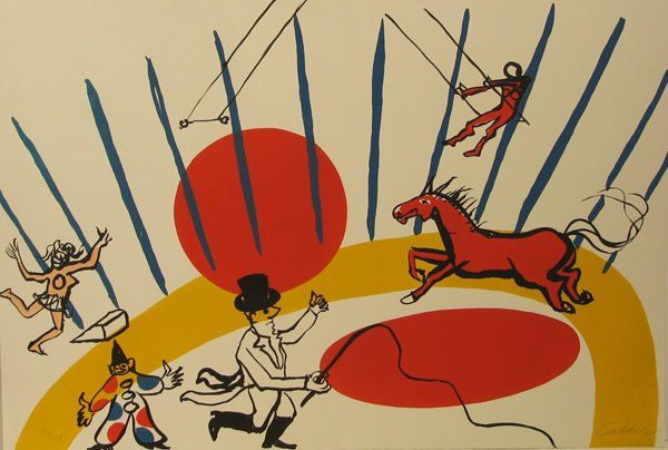 alexander calder circus - Google Search