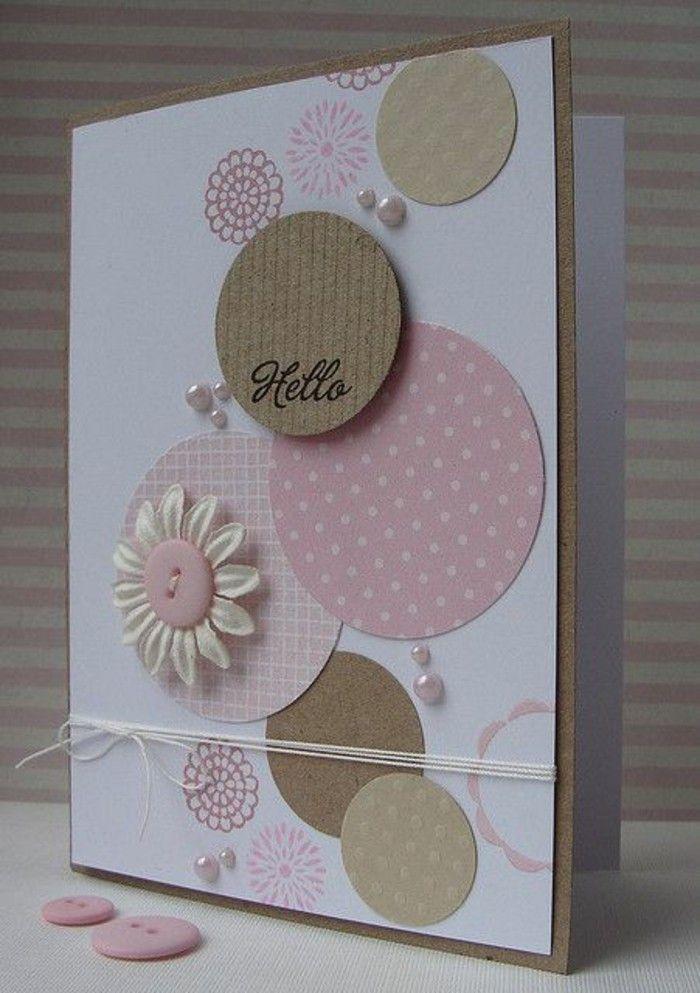 Открытка, милые открытки из картона