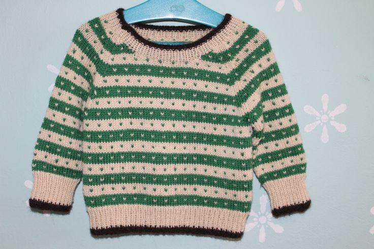 Sweater size 1 - 6 years Garn-iture design Pattern & yarn available at www.garn-iture.dk