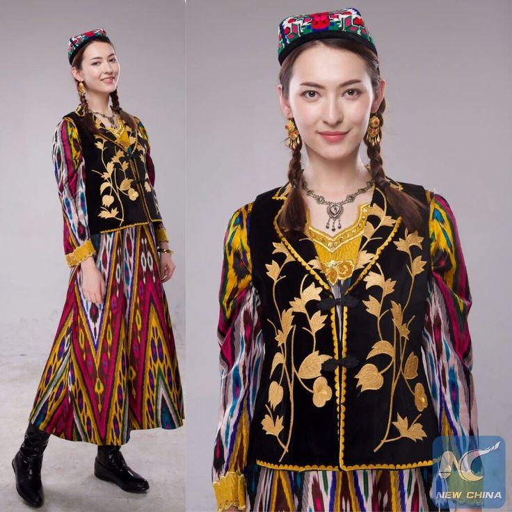 уйгурские платья фото тогда