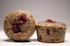Meggyes-mákos muffin ~ Receptműves