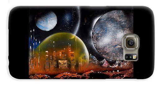 Protection Galaxy S6 Case Printed with Fine Art spray painting image Protection by Nandor Molnar (When you visit the Shop, change the orientation, background color and image size as you wish)