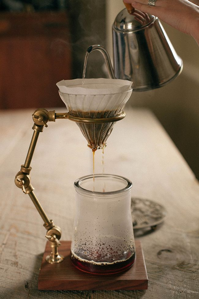 a daily something: the coffee. WOW....and I thought my Chemex pot was cool. Where can i get this???