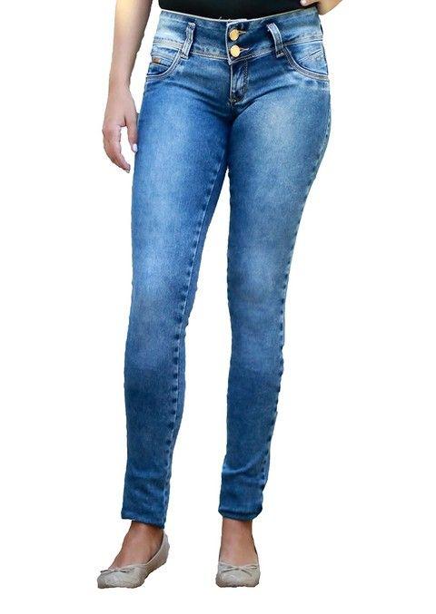 Sawary Jeans Skinny Feminino