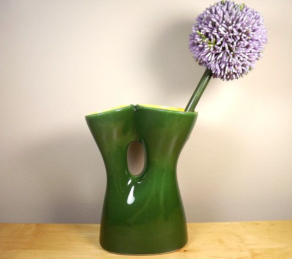Red Wing Pottery Mid Century Modern Double by TheGreenFinch, $50.00