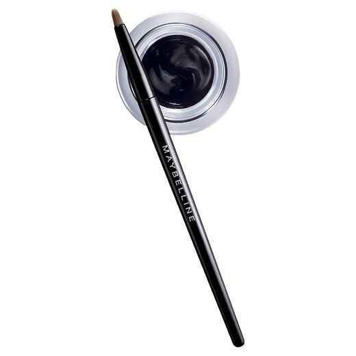 Achieve winged drama with Maybelline's super-concentrated oil-free gel eyeliner. This smudge-free formula sets instantly and glides on easily to deliver intense color that lasts up to 24 hours. Ophthalmologist tested. Dermatologist tested. Allergy tested. Suitable for sensitive eyes and contact lens wearers.<br><br>Glide the gel liner along the lash line from the inner to outer corner of the eye. Eyeliner is easily removed with Maybelline Expert Eyes 100% Oil-Free Eye Makeup R...