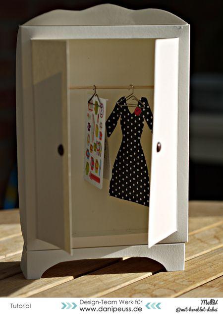 :: danipeuss.de :: BLOG: Tutorial - Klamottengutschein aka Kleiderschrank aus Cardstock