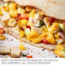 Chicken and zucchini quesadilla - Mayo Clinic