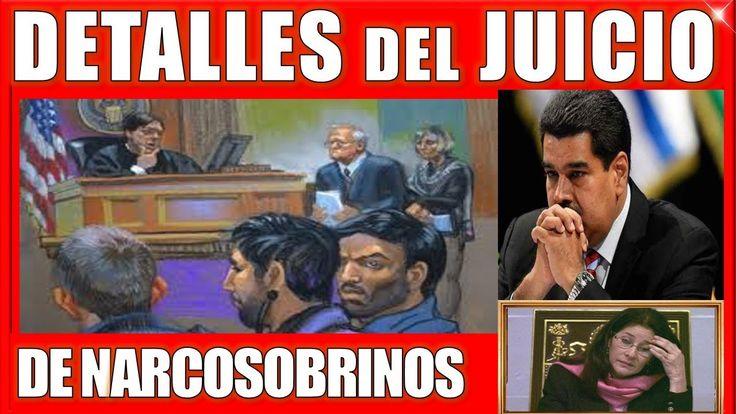 ULTIMAS NOTICIAS DE VENEZUELA PARA HOY 4 DE OCTUBRE DE 2017 #VENEZUELA JUICIO NARCOSOBRINOS