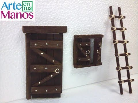 IMITACION DE UNA PUERTA DE MADERA - IMITATION WOODEN DOOR - YouTube