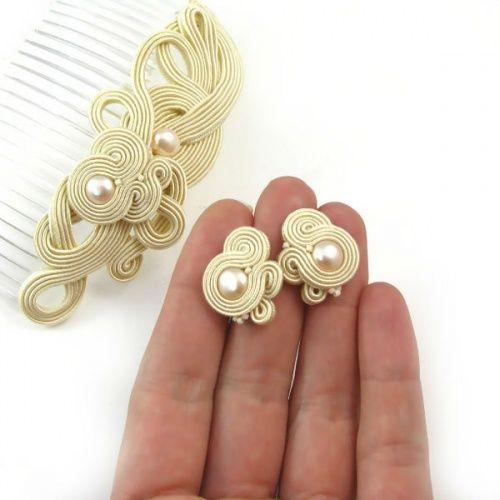 Autorska biżuteria sutasz PiLLow Design...sutasz, sutaszowa, biżuteria ślubna…
