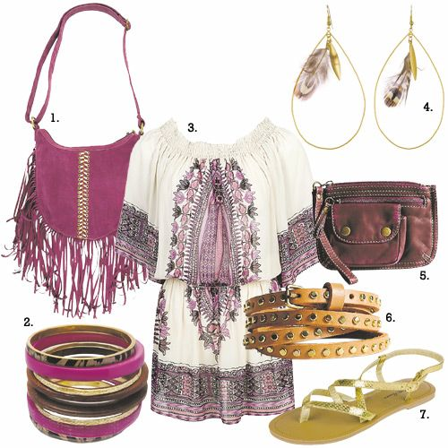 1000+ images about boho chic on Pinterest  Boho style, Fringe skirt ...