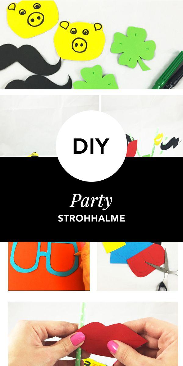102 besten Party Strohhalme ♡ Wohnklamotte Bilder auf Pinterest