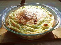 Кабачковая запеканка с сыром и творогом