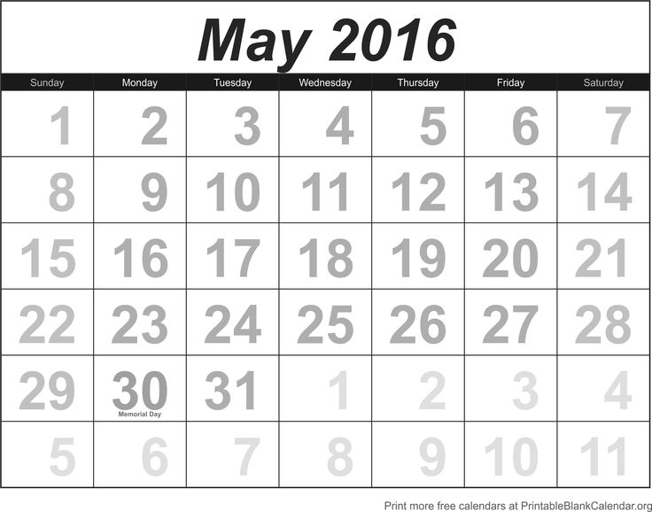 The  Best Blank Calendar May  Ideas On   Blank