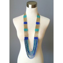 Cherokee Calling Necklace-Blue - $42.00Dresses Shops, Bling, Call Necklaces, Call Necklace Blu, Red Dresses, Clothes'S Jewelry, Clothes'S Jewels Whatnots, Cherokee Call, Red Dress Shops